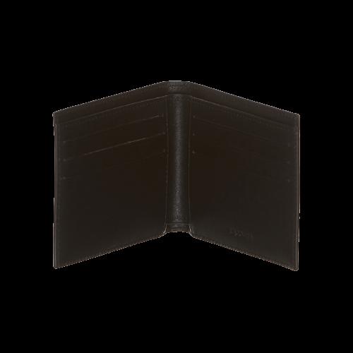 Lacoste черный кожаный кошелек FG NH1115FG-000