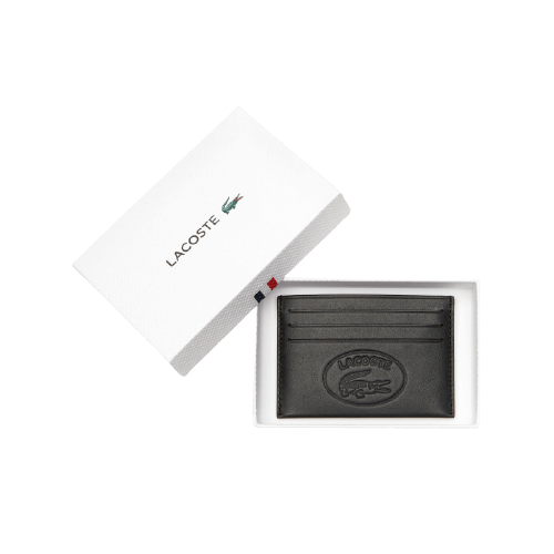 Кожаный кошелек Lacoste L.12.12 CUIR с шестью отделениями для карт NH2658IC-000