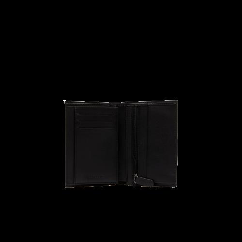 Черный бумажник из натуральной кожи Lacoste FG NH2368FG-000