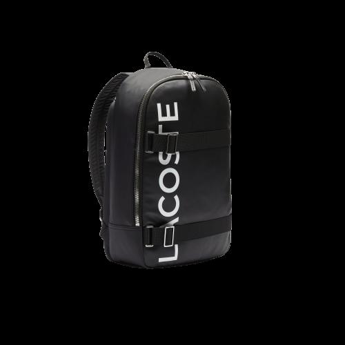 Черный рюкзак Лакост в спортивном стиле L.12.12 CUIR ANIMATION NH3117IA-279